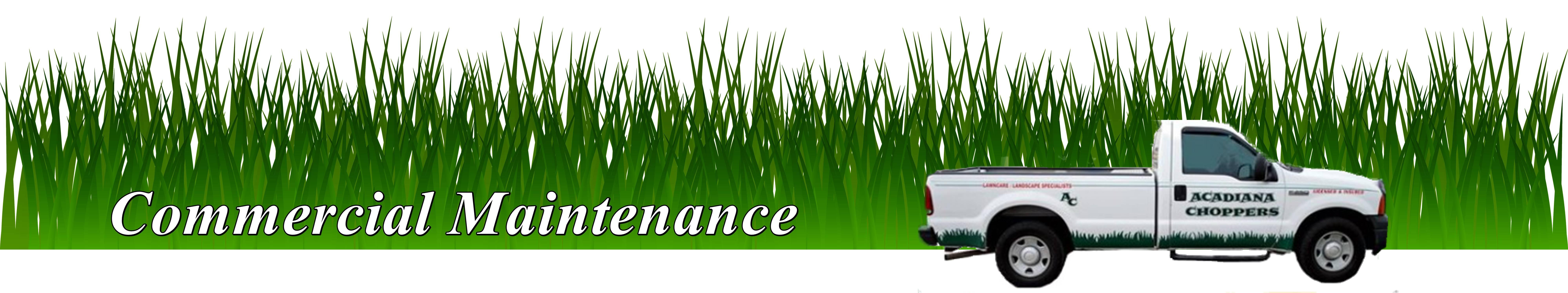 Commercial Lawn & Landscaping Maintenance in Lafayette, LA