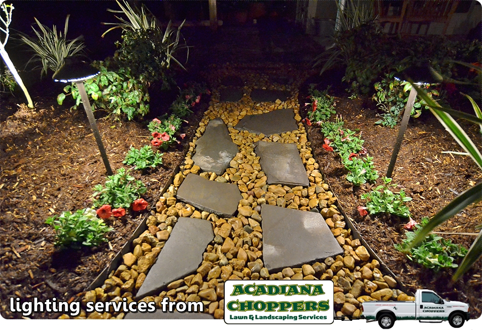 Irrigation & Lighting from The Acadiana Choppers