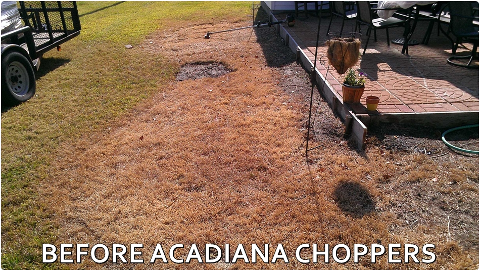 Before ACADIANA CHOPPERS LAWN CARE LAFAYETTE, LA