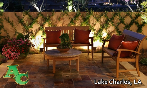 outdoor lighting in lake charles, la