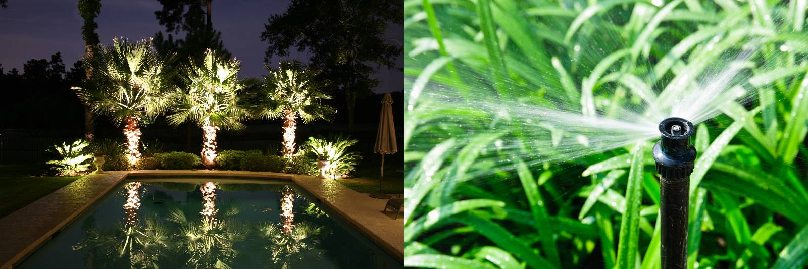 Irrigation outdoor lighting acadiana choppers for Affordable pools lafayette louisiana